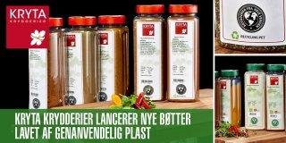Kryta krydderier lancerer genanvendeligt plast