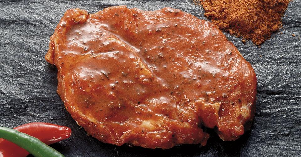 marineret kød