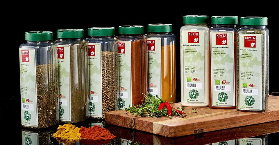 Kryta økologiske krydderier