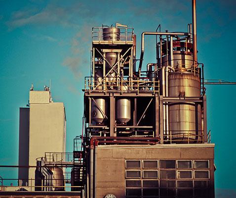 fabrik, industri