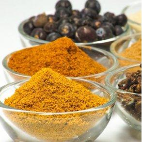 Krydderier i sæk