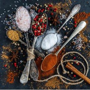 Økologiske krydderiblandinger