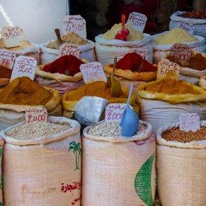 Krydderiblandinger i sæk